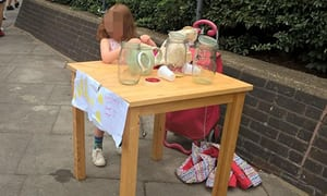 Girl, 5, fined £150 for running homemade lemonade stall | UK news | The Guardian