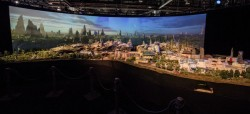 Here's Your First Look at an Insanely Detailed Model of Disney's Star Wars Land (UPD ...