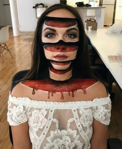 This 3D make up