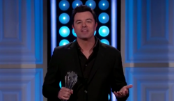 Seth MacFarlane brutally rips Phil Robertson and 'Duck Dynasty' during acceptance speech – ACC M ...