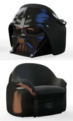 Custom made Darth Vader armchair!