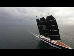 Y 712 on sailing sea trials – YouTube