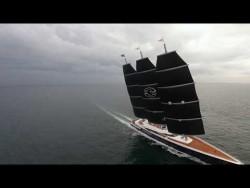 Y 712 on sailing sea trials – YouTube