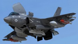 F35 VTOL version fully loaded
