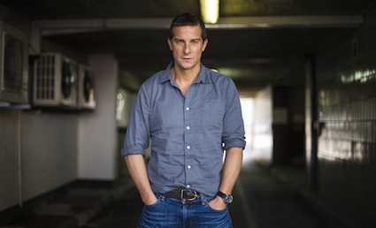 Bear Grylls attempting to survive London on average salary