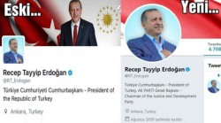 Erdoğan removes 'Republic' from his title on Twitter account | Turkish Minute