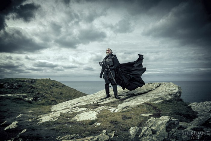 My Dad's Way Of Dealing With His Midlife Crisis: A Game Of Thrones Inspired Photoshoot | Bored Panda