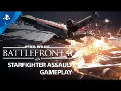 Star Wars Battlefront II – Starfighter Assault Gameplay Demo | PS4 – YouTube