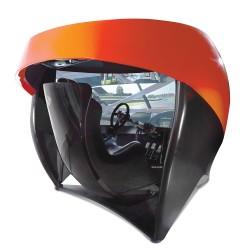 The Full Immersion Professional Racer's Simulator – Hammacher Schlemmer
