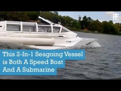 This 2-In-1 Seagoing Vessel is Both A Speed Boat And A Submarine – YouTube