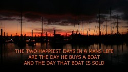 Don't Buy a Boat… – To See The Sea