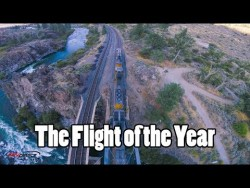 Flight of the Year // Trains, Bridges, Rapids, Mountains, Sunset, Gapping, Perching, Powerloopin ...