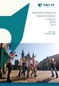 Fox-IT debunks report on ByLock app that landed 75,000 people in jail in Turkey | Fox-IT Interna ...