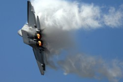 An F22 disguising itself as a cloud