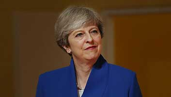Theresa May downgraded to Category One Prime Minister