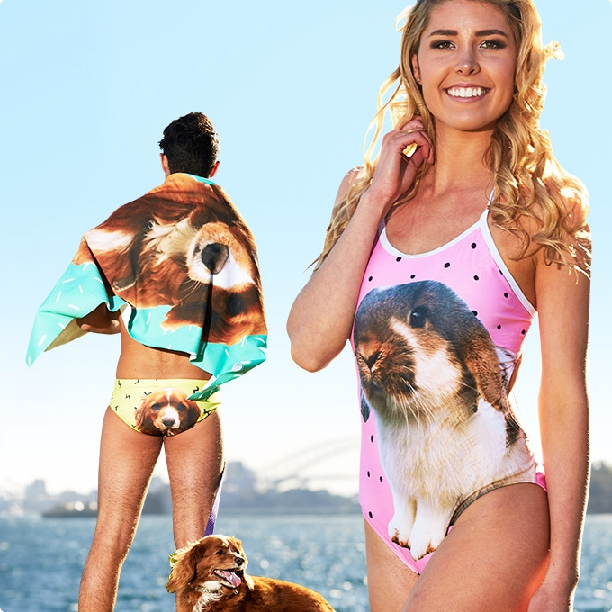 Swimwear Customized With Your Pet