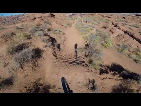 Antoine Bizet's 2017 Red Bull Rampage people's choice award run – YouTube