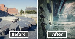 15 Before & After Images Reveal How I Turn My Ordinary Pics Into Fantasy Worlds | Bored Panda