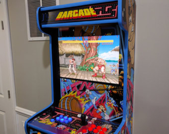Big Arcade fun in a smaller package by BasementArcadesCom on Etsy