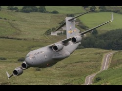 C17 in the Mach Loop 7th July 2017 – YouTube