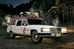 Cadillac Fleetwood Hearse Ghostbusters Ecto-1 replica 60,000 genuine miles  | eBay