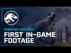 First In-Game Footage – Jurassic World Evolution – YouTube