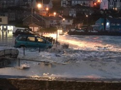 Perranporth meets Storm Brian Oct 2017