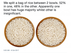 But the rice grains in the 52% are thicker