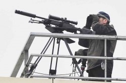 Snipers spotted on Manchester rooftops ahead of huge protest against Conservative Party Conferen ...