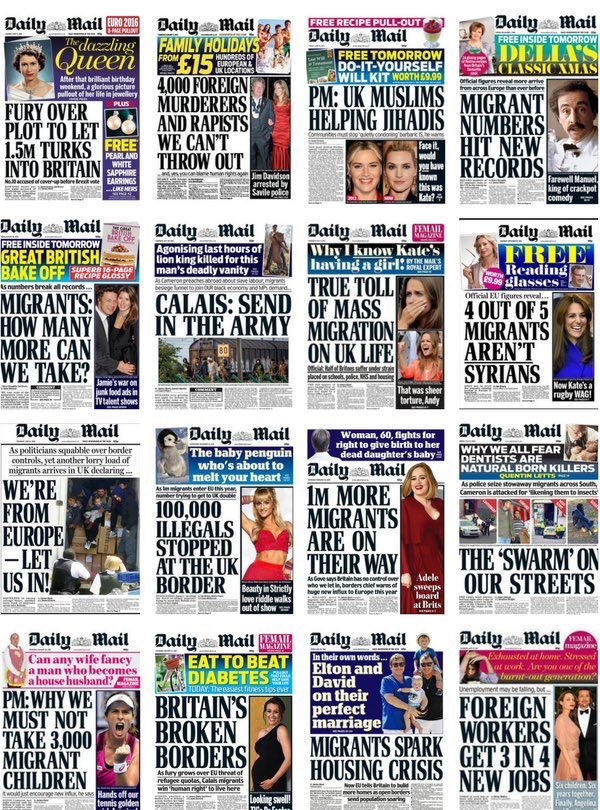 who needs Putin or Russian bots when we have Theresa May and Paul Dacre