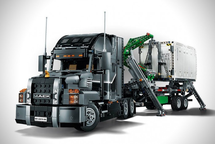LEGO Technic 2-In-1 Mack Truck | HiConsumption