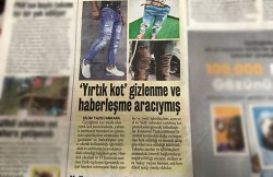 'Spies' Communicate Via Ripped Jeans, According to Pro-Government Akit Daily – english