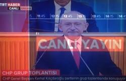 State-Run TRT Cuts Live Broadcast as Kılıçdaroğlu Shows Documents – english