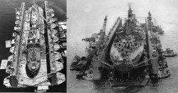 The Gigantic Floating Dry Docks That Could Repair Battleships And Carriers Thousands Of Miles Fr ...
