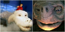 There's a place in Germany where you can ride Falkor and see the props from 'The Neverending Sto ...