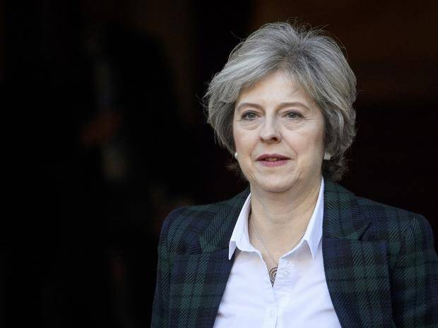 Theresa May suggests UK health services could be part of US trade deal | The Independent