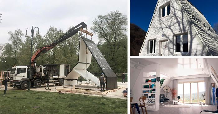 This House Takes 6 Hours To Build And Costs Just $33K | Bored Panda