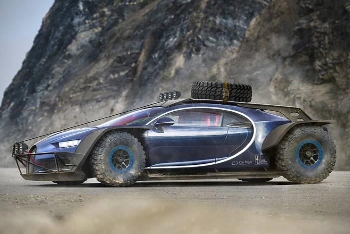 Bugatti Chiron Baja Racer | HiConsumption