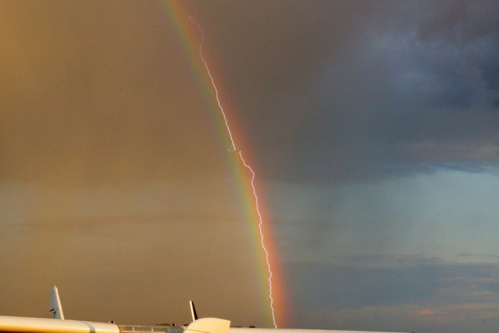 Rainbow vs. Lightning