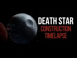 Death Star Construction Timelapse – YouTube