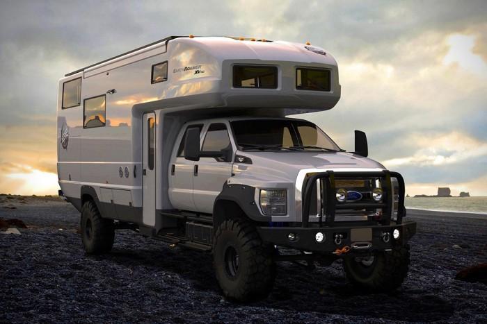 EarthRoamer XV-HD Luxury Overland Vehicle | HiConsumption