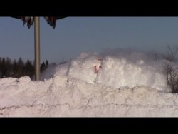 EPIC CATCH!!! Dashing Thru the Snow – CN Train 406 West at Salisbury, NB (Feb 3, 2015) &#8 ...