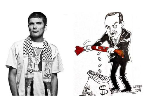 Erdoğan Demands Censorship on Latuff's Caricature – english