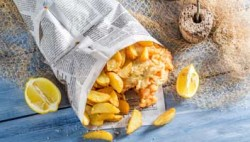 Fish and chips refusing to be wrapped up in the Daily Mail from now on