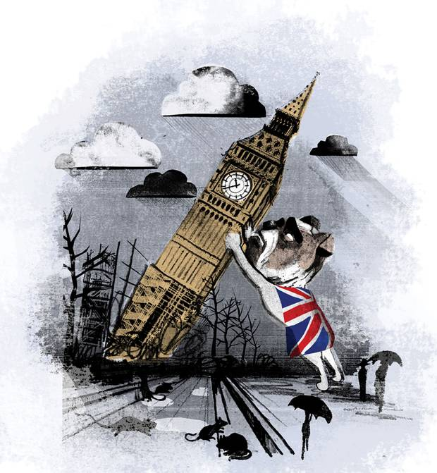 Fool Britannia: The future of the U.K. has never looked so grim – The Globe and Mail