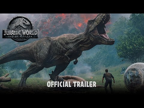 Jurassic World: Fallen Kingdom – Official Trailer [HD] – YouTube