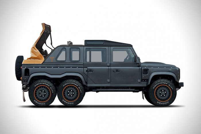Land Rover Defender Flying Huntsman 6×6 Soft Top | HiConsumption