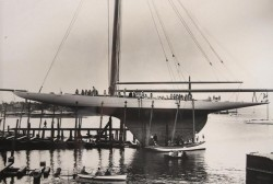 America's Cup Yacht 'Reliance', LOA 201 ft 0 in (61.26 m) Reliance was the 1903 America's  ...