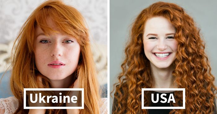 Photographer Travels Around The World To Capture The Incredible Beauty Of Red Hair, Photographs  ...