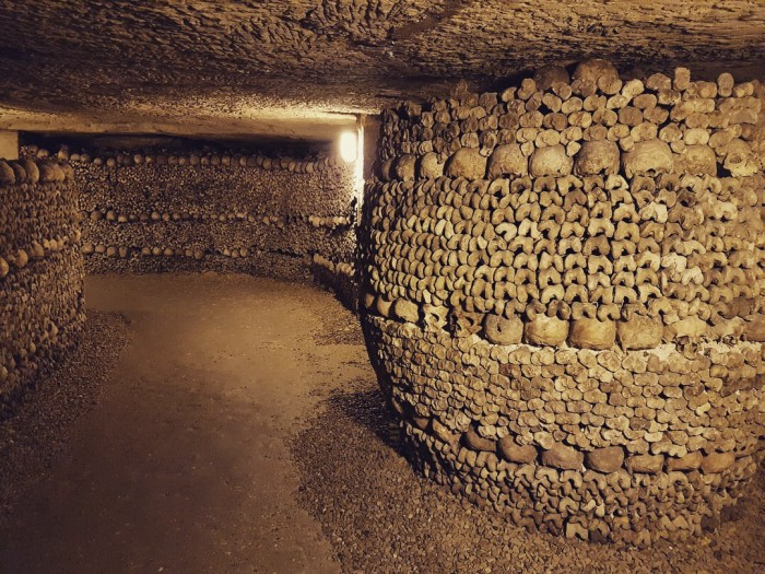 That's a lot of bones – Paris catacombs